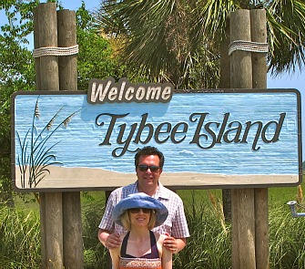Entrance to Tybee Island, Georgia