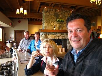 Quail's Gate Wine Tasting, Kelowna BC