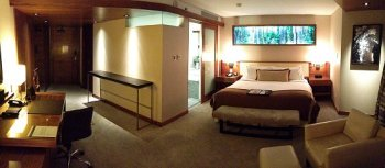 Room at the Fairmont Pacific Rim, Vancouver, BC