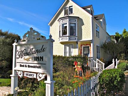Headlands Inn, Mendocino, CA