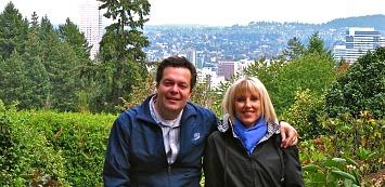 Visiting Portland Rose Garden