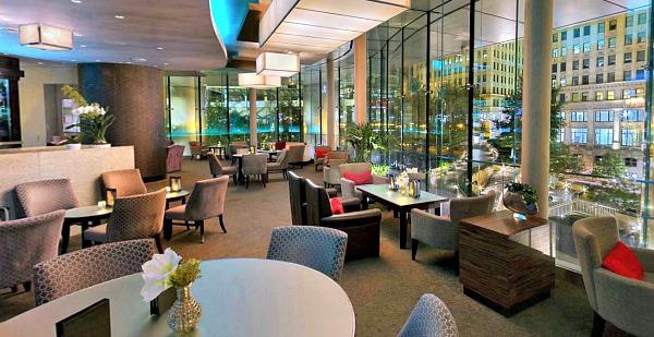 Romantic Chicago Lounge - Rebar at the Trump Hotel