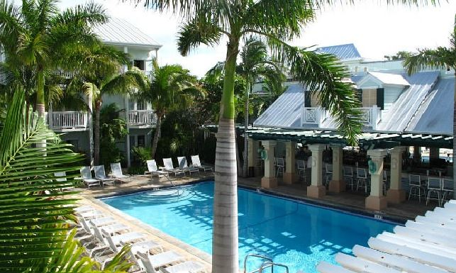 Pool at the Southernmost Hotel in Key West