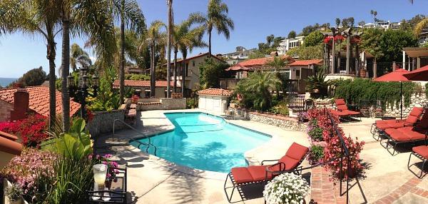 Romantic Hotel in Southern California