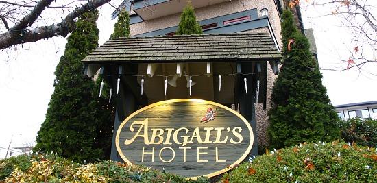 Abigail's Hotel in Victoria BC