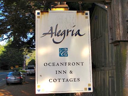 Alegria Oceanfront Cottages, Mendocino