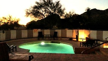 Arizona Hotel Private Pool Suite