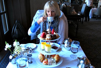 Afternoon Tea - Banff Springs Hotel