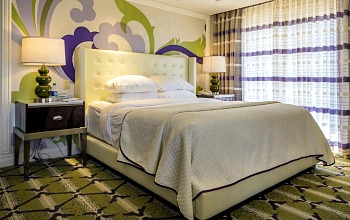 Bellagio Hotel Bedroom