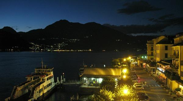 Bellagio Italy at Night