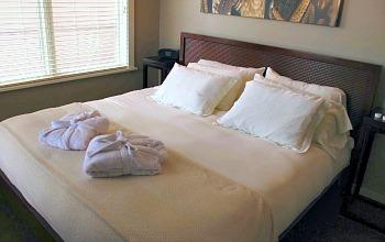 Bird Rock Hotel Bedroom