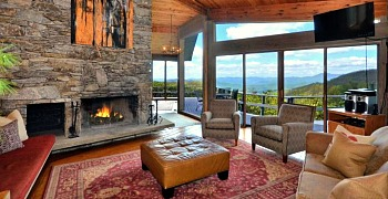 NC Vacation Rental Mountain Views
