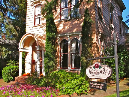 Healdsburg California Bed And Breakfast With A Pool
