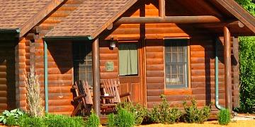 Romantic Wilderness Cabin