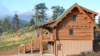 Estes Park Log Cabin Rental