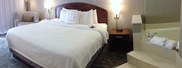 In-Room Jacuuzi Suite - Marriott Courtyard Colorado Springs