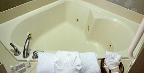 Heart Shaped Jacuzzi Tub in Colorado Springs