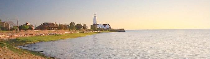 Romantic Connecticut Coastline
