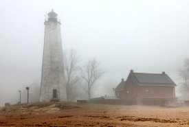 Lighthouse Fog, Connecticut