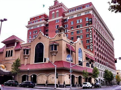 Davenport Hotel Restaurant Spokane Washington
