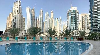 Marina Hotel Apartments Pool