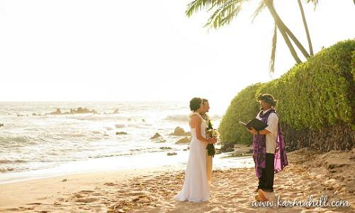 Romantic Elopement in Hawaii