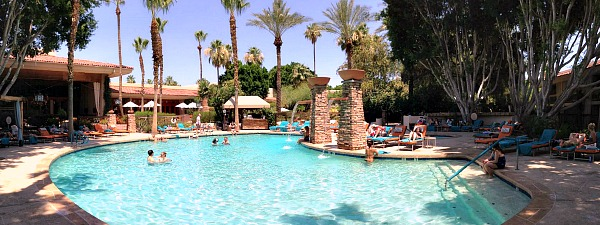 Pool at the FireSky Resort & Spa, Scottsdale Arizona