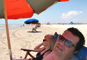 Galveston TX Beach