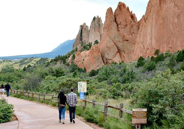 Romantic Walk - Garden of the Gods, Colorado