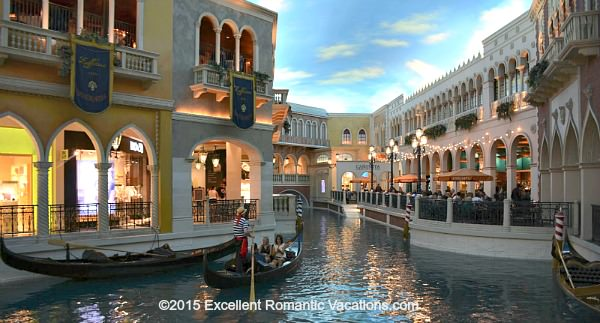 Gondola at the Venetian Hotel in Las Vegas
