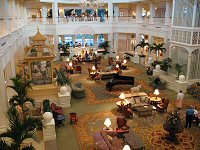 Grand Floridian Resort & Spa Inside