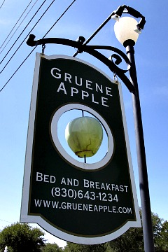 Gruene Apple Bed and Breakfast, Texas
