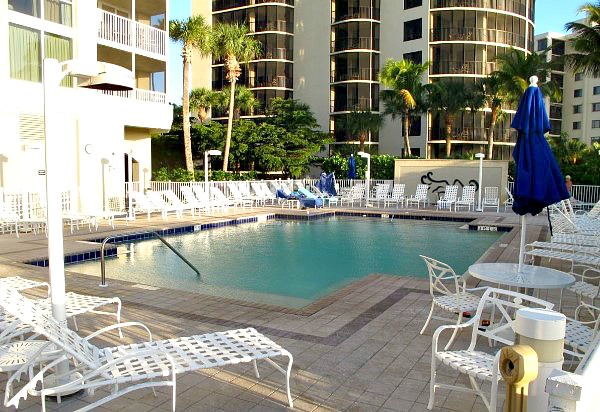 Pool Area at the GullWing Resort