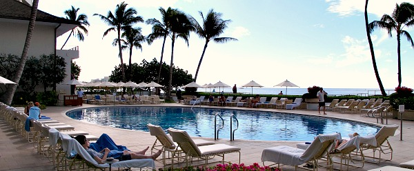 Halekulani Hotel Pool, Waikiki