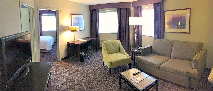 Room at Hampton Inn Santa Ana