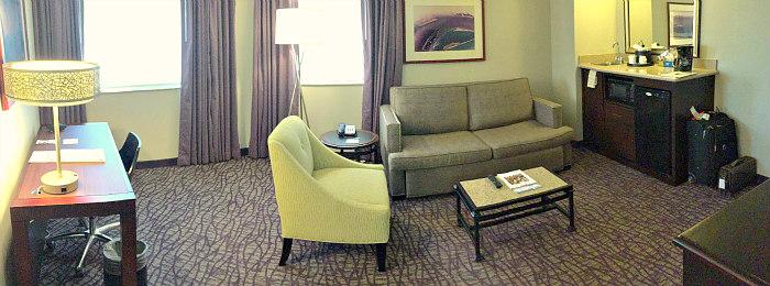 Orange County Hotel Suite