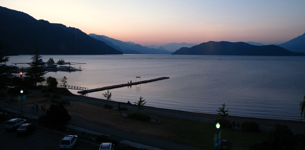Romantic Sunset at Harrison Lake, BC