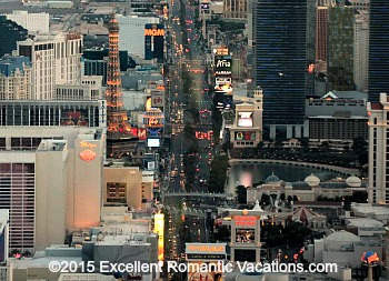 Sunset Aerial Tour of the Las Vegas Strip