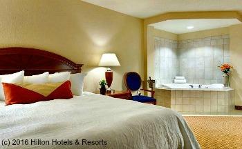 Romantic Jacuzzi® Suite at the Hilton Garden Inn, Columbus OH
