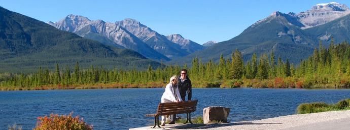 Canadian Rockies Honeymoon in Banff, AB