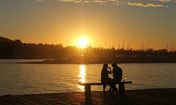 Santa Barbara, CA Sunset