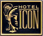 Hotel Icon Sign