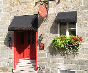 Hotel Le Clos Saint-Louis, Romantic Boutique Hotel in Quebec City