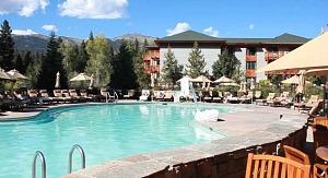 Pool at the Hyatt Regency, Lake Tahoe