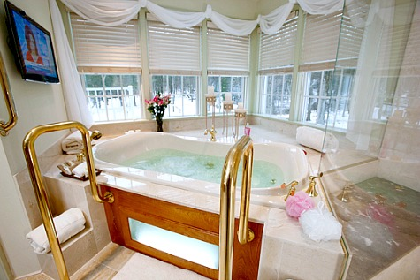 Pennsylvania Hot Tub Suites - Hotel Rooms With Private Whirlpool Tubs