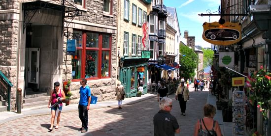 June Vacation in Quebec City, QB