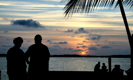 Romantic Key West Sunset