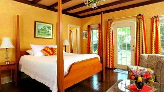 Romantic Room at the L Auberge Provencale Inn, Virginia