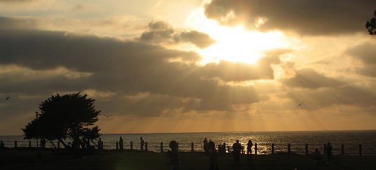 La Jolla Sunset, one of San Diego's Most Romantic Spots