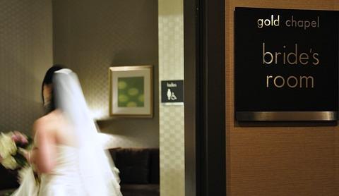 Las Vegas Elopement Bride